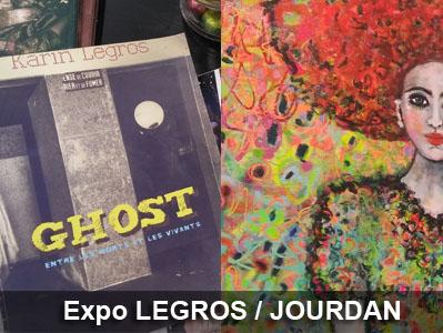 Expo Karin Legros et Sophie Jourdan