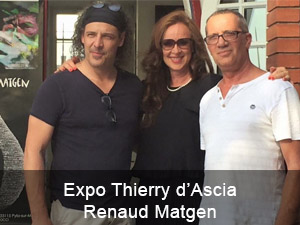 Expo Thierry d'Ascia / Renaud Matgen