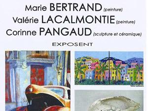 Expo Bertrand / Lacalmontie  / Pangaud