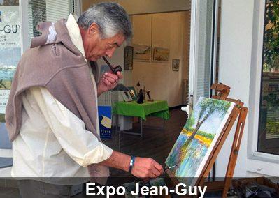 Jean-Guy, peintre aquareliste
